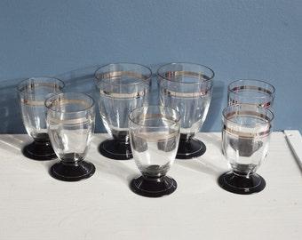 Art Deco Aperitif glasses