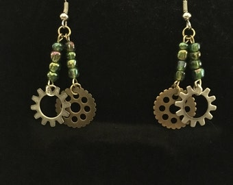 Gear Earrings
