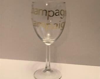 Champagne Campaign | Champagne | Wine Glass