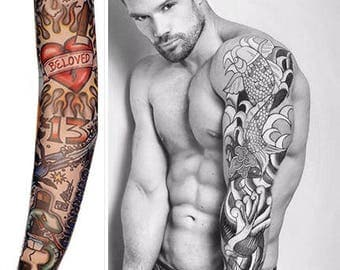 Sleeve Tattoo Temporary Body Art