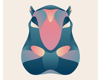 Wildlife Series - Hippopotamus