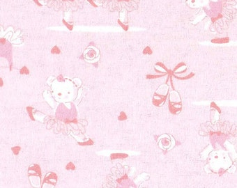 Flannel Pack N Play Fitted Sheet Ballerina Bear