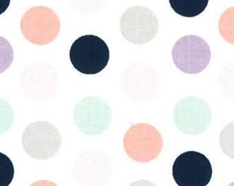 Fitted Crib Sheet Dots