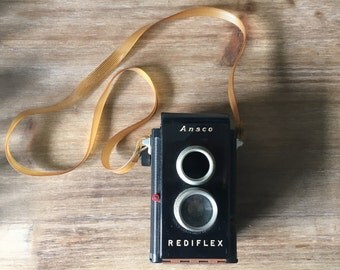 Ansco Rediflex Vintage 1950 Collectible Camera