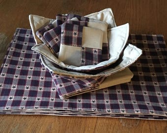 Cozies, coasters, pot holders, placemats