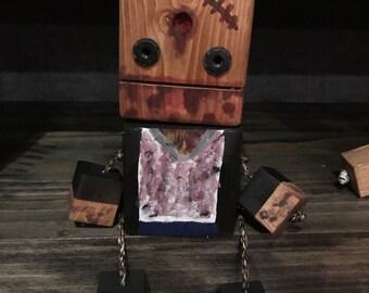 Wooden Block Buddie - Zombie