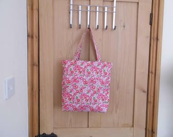 Handmade Cotton Fabric Tote Bag