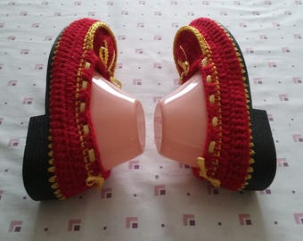 Knitted Mocassins