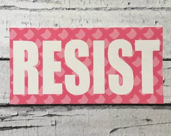 RESIST Bumper Sticker (Free Shipping)