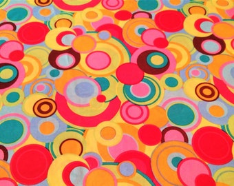 Quilting Material, Circles/Dots, Clothing Fabric, Geometric Fabric, Craft Supplies, SewingMaterial, Fabric By The Yard/Half Yard/Fat Quarter