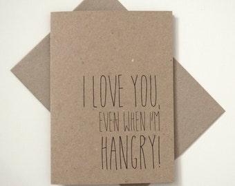 Greeting Card - Hangry Love