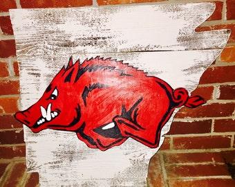 Handpainted hog