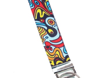 Legacystraps Keyfob Wristlet Abstract