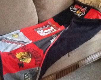 Chicago Blackhawks Blanket Throw