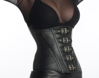 Corset cincher leather