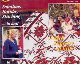 Needlework: McCall's Magazine - December 1993