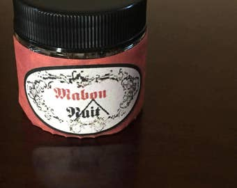 Mabon Incense ~ Autumn Equinox ~ Wheel of the year ~ Witchcraft ~ Wicca ~ Pagan ~ 1 oz.