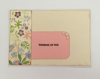 Handmade Card - Thinking of You (ToY03)