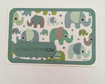 Handmade Card - Happy Birthday (HB31)