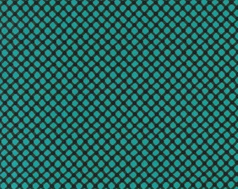 Michael Miller fabric -Michael Miller Cora- teal cora fabric- teal fabric-Michael Miller cora teal -green scales fabric-quilting cotton