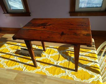 Small Antique Folding Table