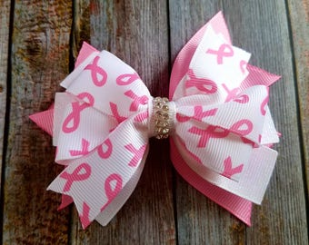 Breast Cancer Awareness Bow, Pink Ribbon, Breast Cancer, Breast Cancer Awareness