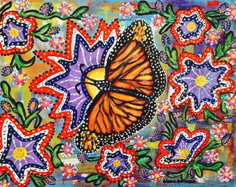 The world of a butterfly