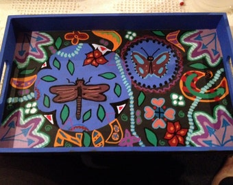 Butterfly and Dragonfly Tray