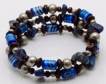 Base Materials (Upcycled Paper Bead Bracelet/SB0035)