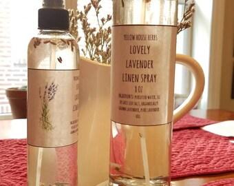 Lovely Lavender Linen Spray