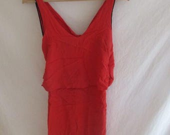 Sandro Orange dress size S to-68%