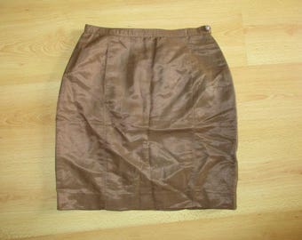 Skirt Versace Brown size 34 to-72%