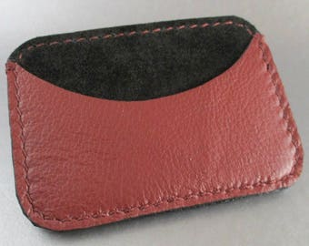 Leather Credit Card Case / Card Case / Leather Card Case / Leather Business Card Case / Business Card Carrier / Minimalist Wallet