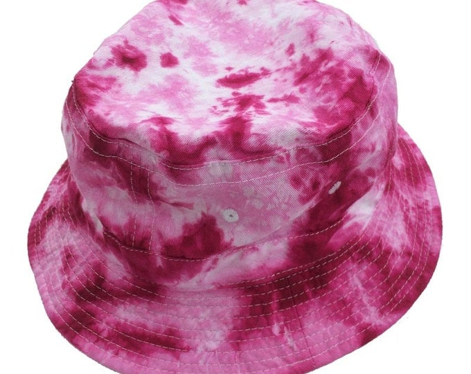 Tie Dye Bucket Hat - Pinks