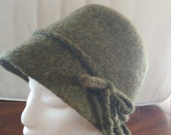 Felted woman's hat