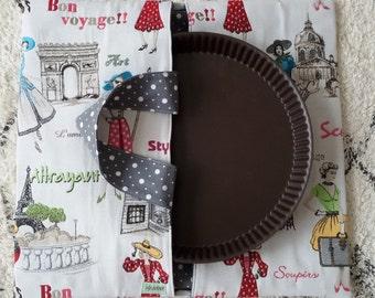 """Bag wears pie """"monuments of paris"""""""