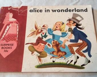 1950 Alice In Wonderland: A Surprise Book, By Oskar Lebeck