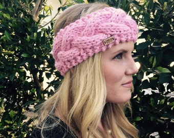 Cabled Ear Warmers