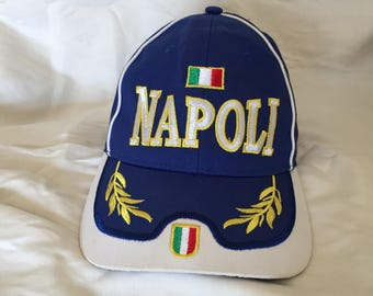 Vintage Naples Italy dad hat