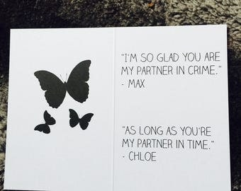 "Card ""Life is Strange"""