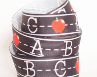 "ABC's 7/8"" Grosgrain Ribbon 810"