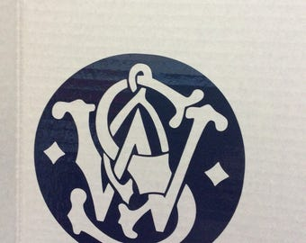 Smith and Wesson gun decal