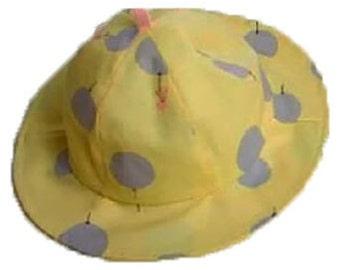 Polka Dot Bucket Sun Hat