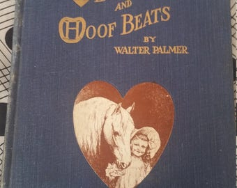 Charming Victorian book of horse poetry