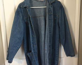 Lightweight Blue Jean Jacket
