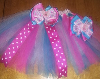 Peppa pig tutu and bow set