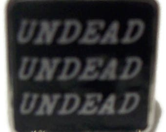 Undead,UndeadUndead Picture Fully Adjustable  Ring