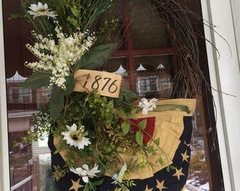Patriotic Wreath 2