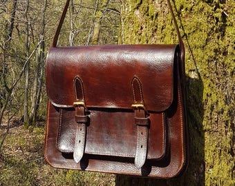 Leather bag/satchel bag/briefcase/shoulder bag/messenger bag