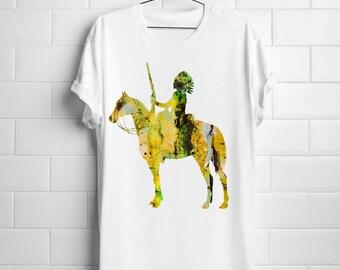 Chief T-shirt Art Tee Fashion Apparel Shirt White